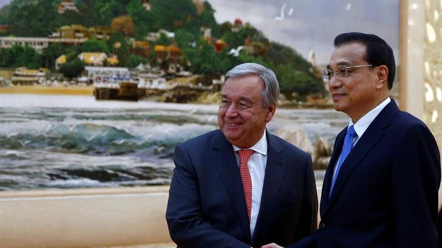 """Guterres dice que """"China puede ser un intermediario honesto"""" en conflictos"""