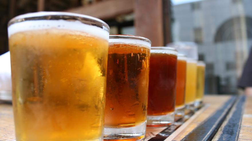 En Aragón se fabrican muchos tipos de cervezas artesanas