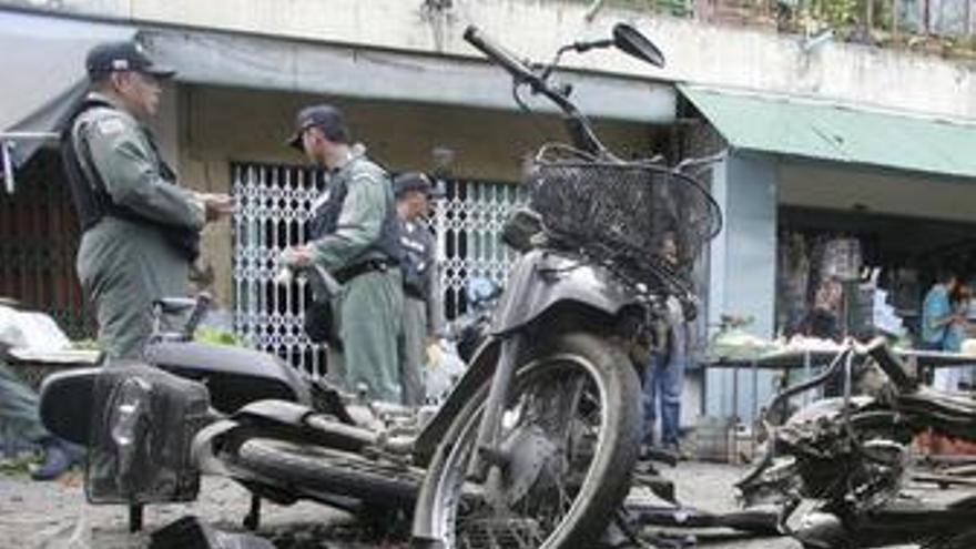 Atentado en Tailandia
