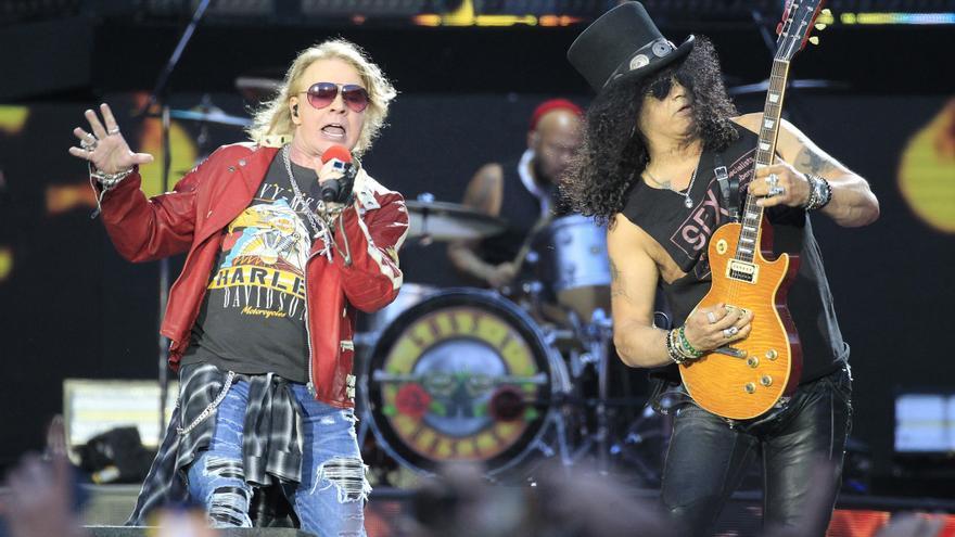 Guns N'Roses pospone a 2022 su gira europea, incluido su concierto en Sevilla