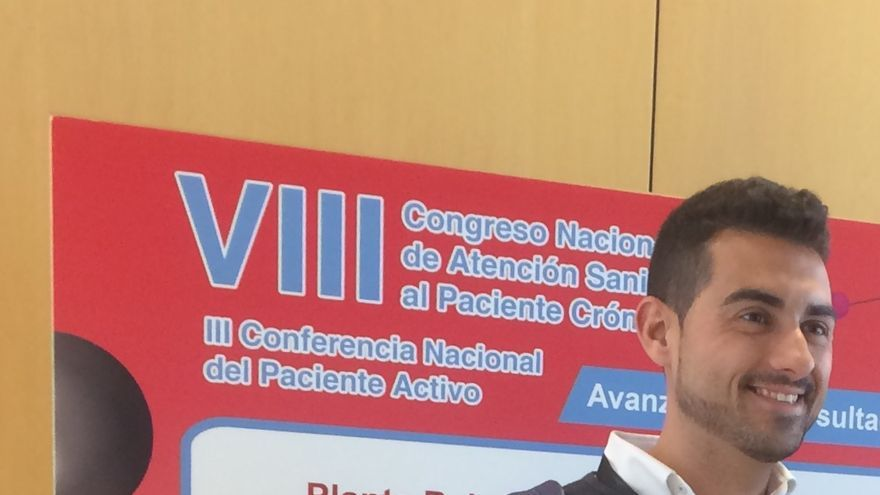 Juanma Rivera, de la Junta de Govern del Col·legi de Treball Social de Catalunya