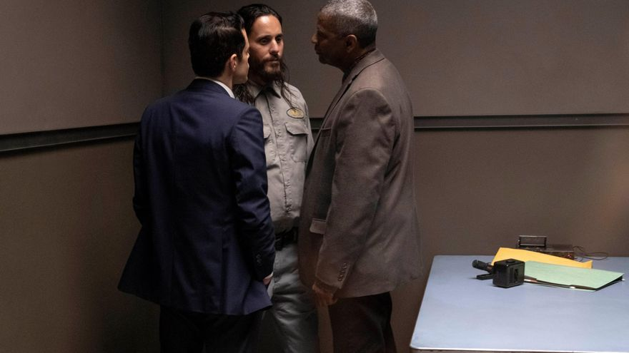 """""""Pequeños detalles"""": Jared Leto atormenta a Denzel Washington y Rami Malek"""