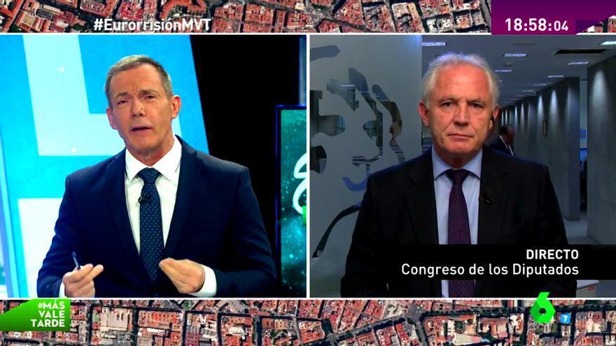 laSexta habla de 'Eurorrisión' y entrevista al diputado socialista denunciante