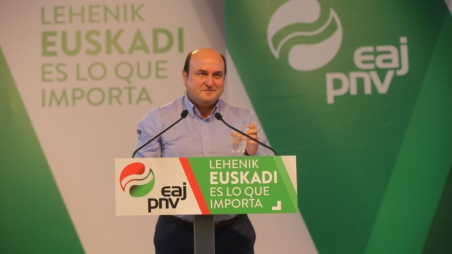 """Ortuzar (PNV) pide """"votos a modo de diques"""" que """"libren"""" a Euskadi de la """"riada del centralismo que viene"""""""