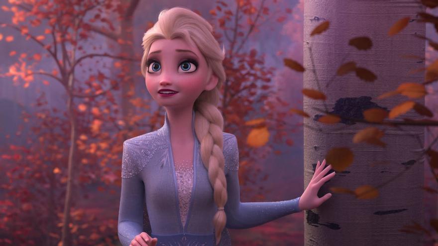 Elsa, en 'Frozen II'