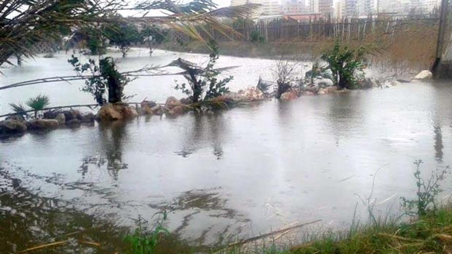 Las lluvias han provocado el aumento de los caudales