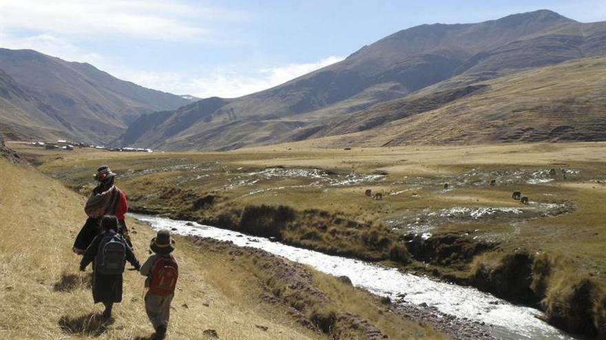 Unos 200.000 peruanos afectados por frío, con mínimas de hasta -20,6 grados