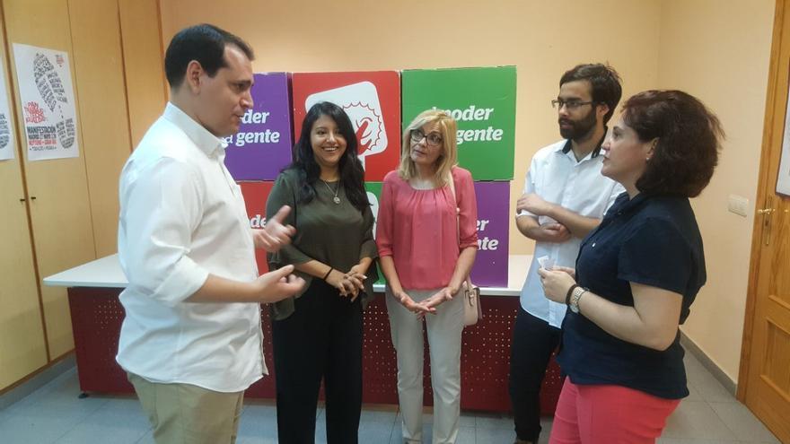IU-Verdes de Murcia pide a Podemos y Equo la creación de una candidatura unitaria