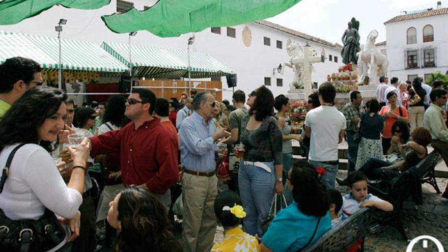 Cruz de Mayo de Santa Marina | MADERO CUBERO