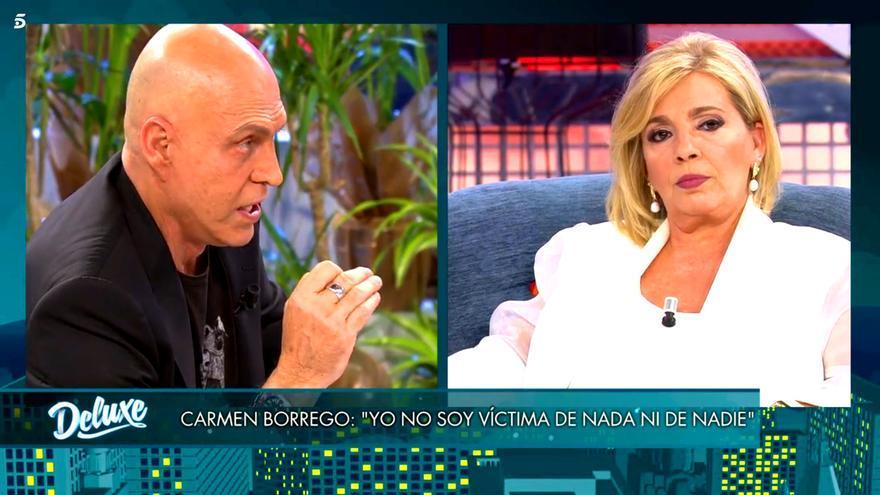 'Deluxe' (16.1%) baja notablemente con Carmen Borrego, y Antena 3 sube con 'Objetivo Londres' (12.3%)