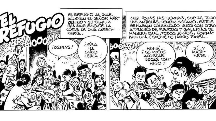 Carlos Giménez, Crumb o Díaz Canales, las viñetas de la 75 Feria del Libro
