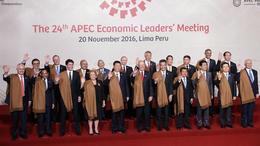 La cumbre del APEC concluye con una declaración de alerta sobre el riesgo del proteccionismo