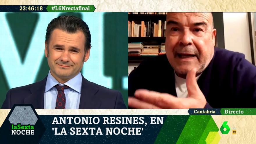 Resines, entrevistado por Iñaki López