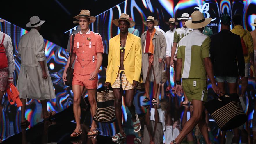 Desfile de Lucas Balboa en la Semana de Moda de Baño de Gran Canaria