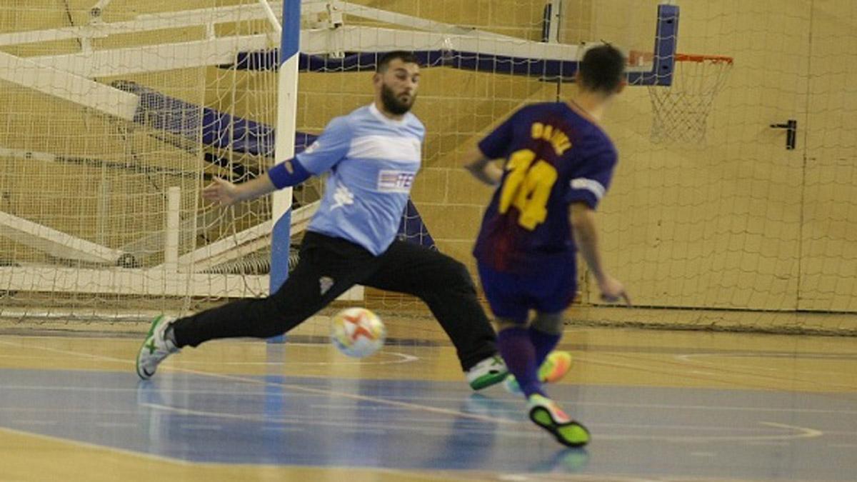 Agus, en su etapa en el Córdoba Futsal