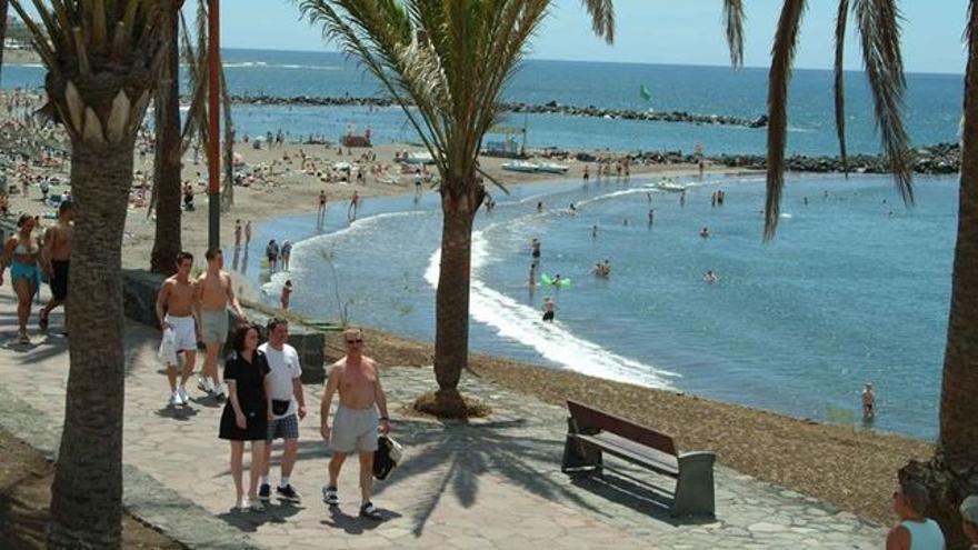 Playas en la zona sur de Tenerife