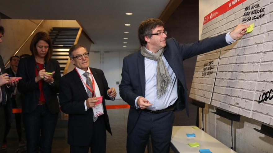 """Puigdemont cree que se utiliza la ley contra """"derechos fundamentales"""" y pide cambios"""