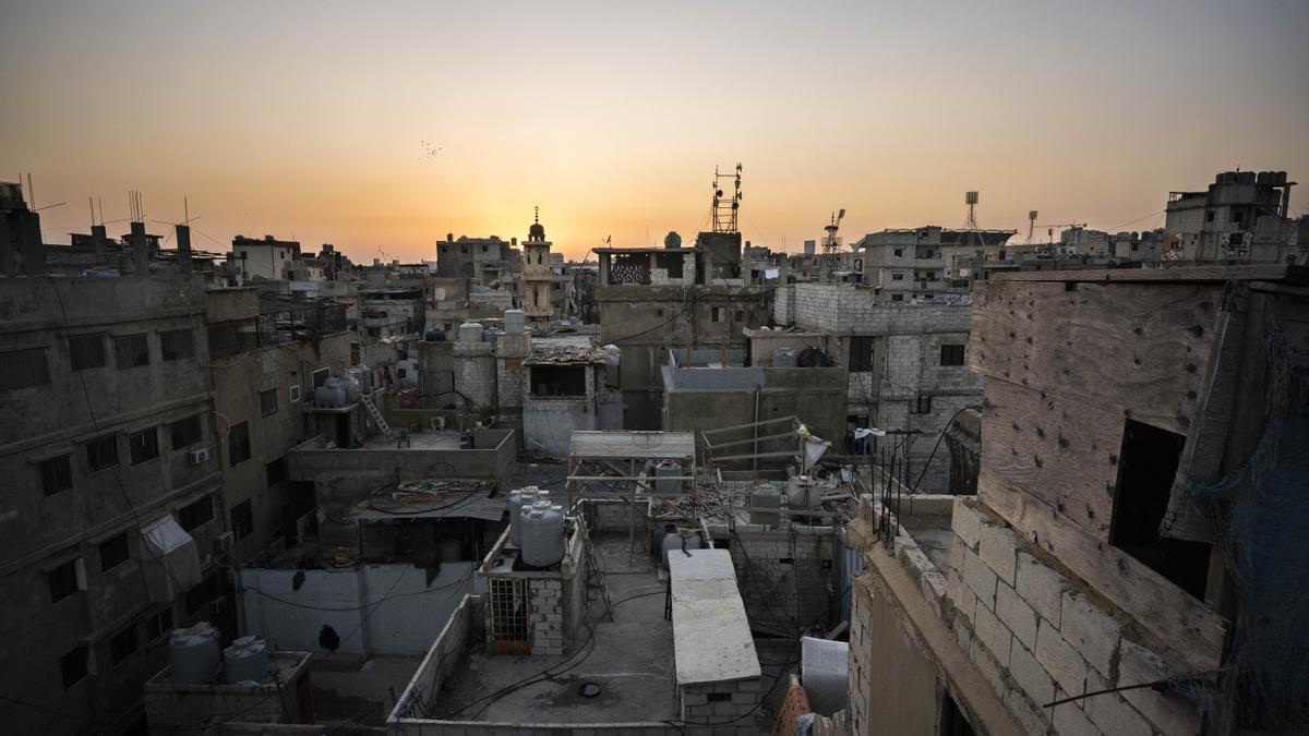 'Skyline' del campo para personas refugiadas palestinas de Shatila (Beirut), septiembre 2020.