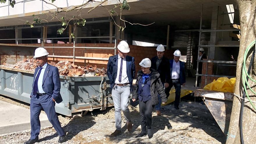 Las obras del nuevo centro de salud finalizarán en julio
