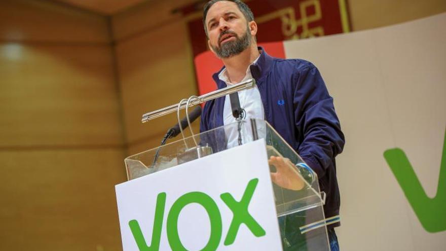 """Vox rechaza el mensaje del """"miedo"""" y se proclama como única opción del cambio"""