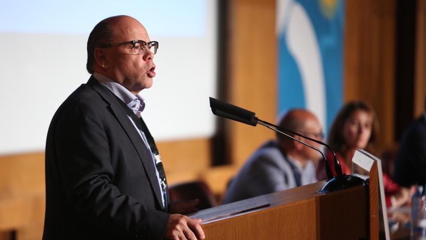 José Miguel Baragán, secretario general de Coalición Canaria.
