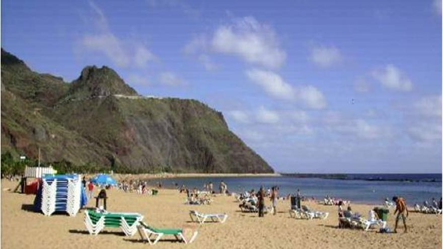 Imagen de la playa de Las Teresitas, donde se acometieron los hechos.