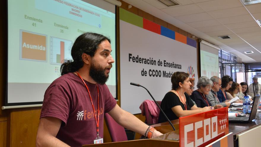 José María Ruiz, secretario de Enseñanza Pública no Universitaria de la Federación estatal de Enseñanza de CCOO.