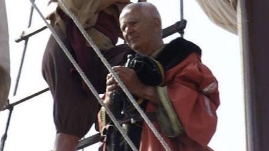 El Museo Naval homenajea a Pepe Feliciano, 'capitán' de la Nave de María
