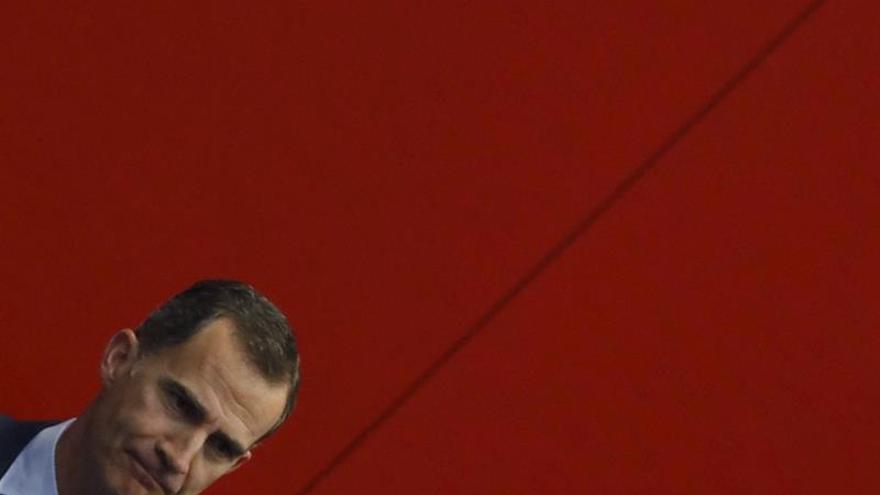 Felipe VI avisa a los terroristas de que ninguna amenaza doblegará a la libertad
