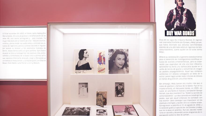 Hedy Lamar exposición