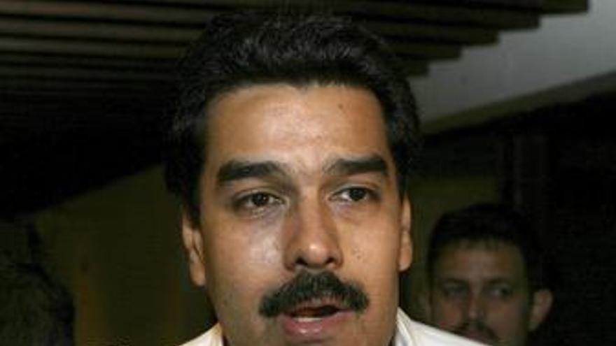 El ministro de auntos exteiores de venezuela nicolas maduro