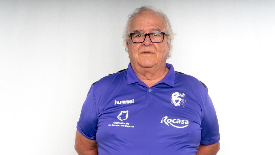 Antonio Moreno, entrenador y presidente del Club Balonmano Remudas.