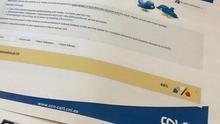 Material suministrado por el CNI sobre herramientas para detectar bots en las redes sociales.