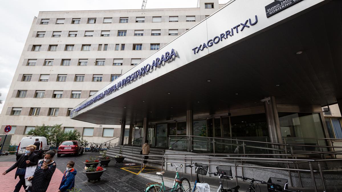 Exterior del Hospital de Txagorritxu (Vitoria)