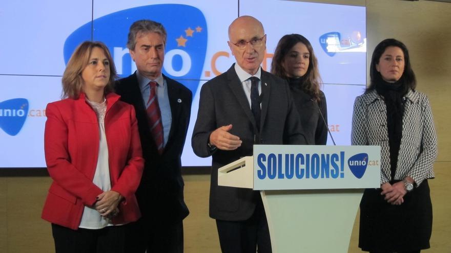 """Duran (Unió) dice que JxSí """"pierde fuelle"""" porque no ha sabido administrar el 27S"""