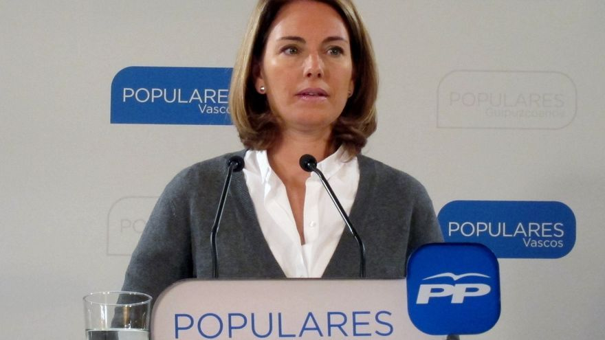 "Quiroga (PP) llama a ""reaccionar"" para que los territorios de Euskadi no sean ""feudos de Sabin Etxea"""