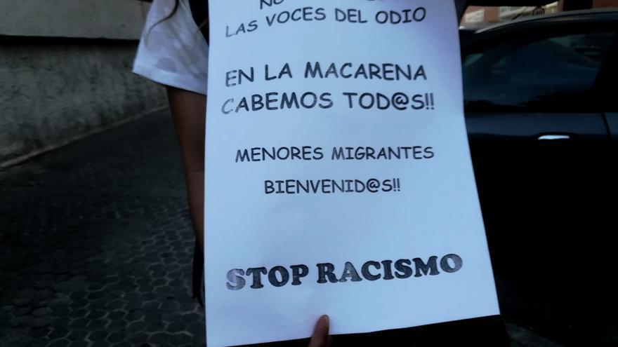 Activista de la plataforma ciudadana 'Macarena para Todas'