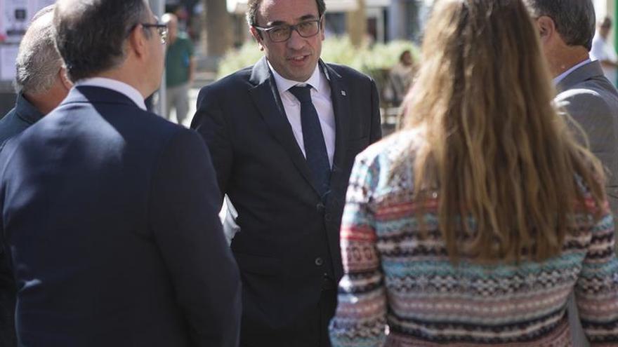El conseller Rull: El 1-O se sabrá si los catalanes quieren una democracia no amenazada
