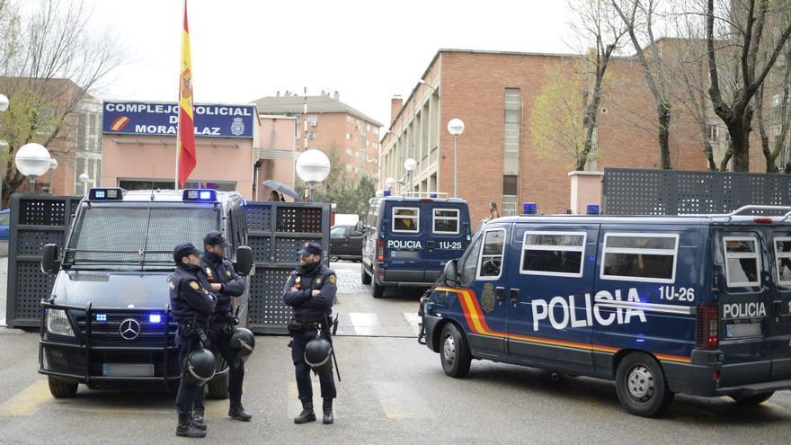 Complejo policial de Moratalaz, en Madrid