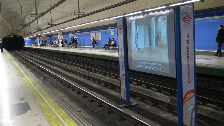 Sindicatos de Metro de Madrid convocan este miércoles una manifestación por la reducción de sueldos a trabajadores