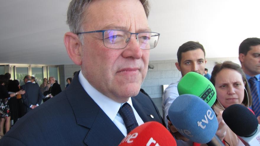 """Puig dice que """"no pasa nada"""" si gana Pedro Sánchez, pues al día siguiente """"continuaremos trabajando por la Comunitat"""""""