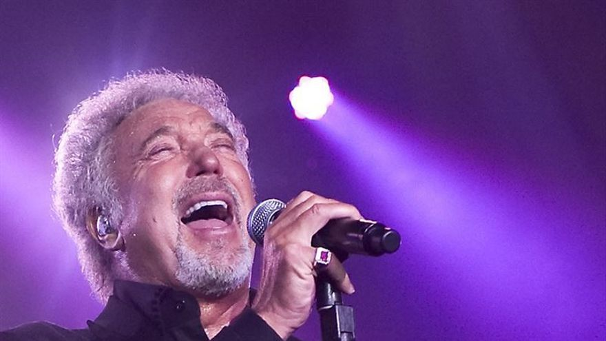 El cantante británico Tom Jones./ Carsten Windhorst