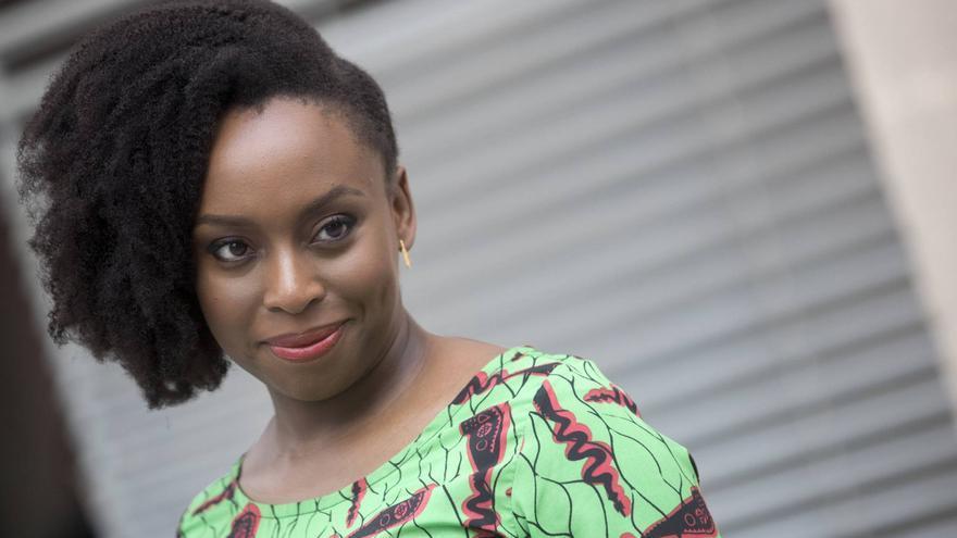 Chimamanda Ngozi Adichie, en el CCCB de Barcelona