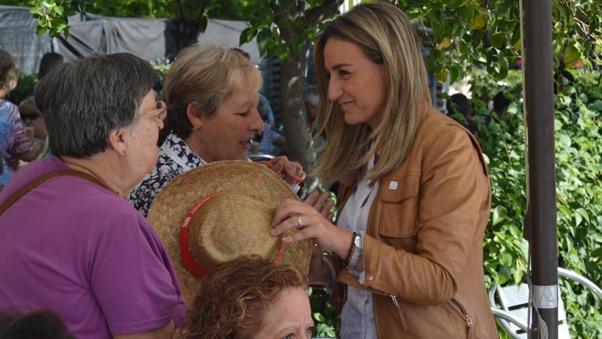 Milagros Tolón, candidata a la Alcaldía de Toledo del PSOE / Foto: Javier Robla