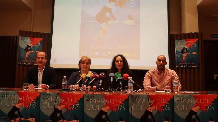 Presentación del maratón de cuentos de Guadalajara 2019