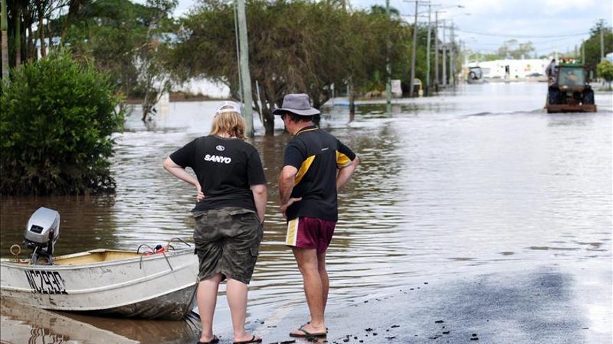 Elevan la alerta por cocodrilos por las inundaciones en el norte de Australia