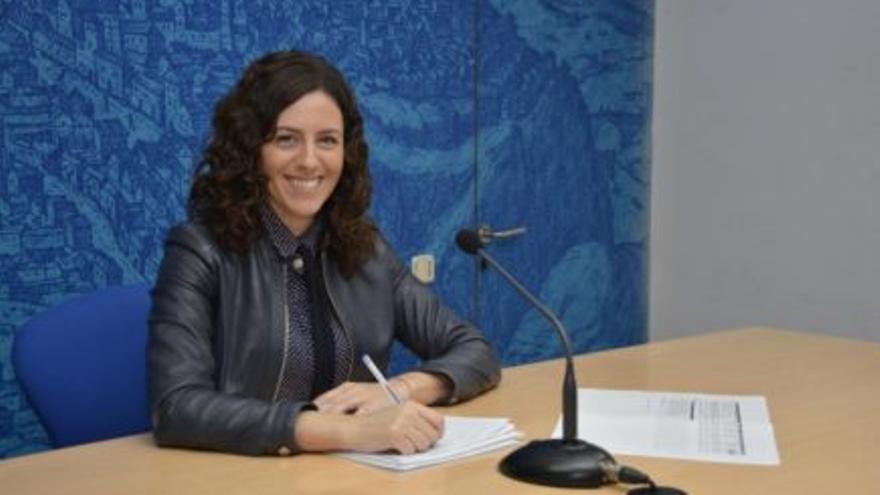 La portavoz del Gobierno local de Toledo, Noelia de la Cruz / Ayuntamiento de Toledo
