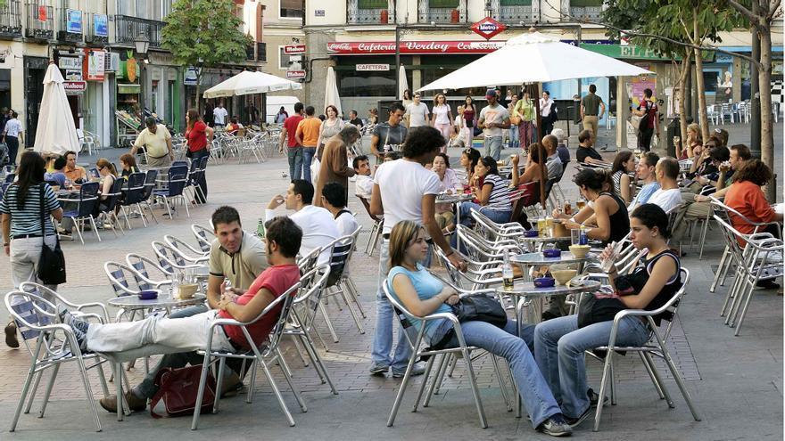 Terrazas en la plaza de Chueca | AYUNTAMIENTO DE MADRID