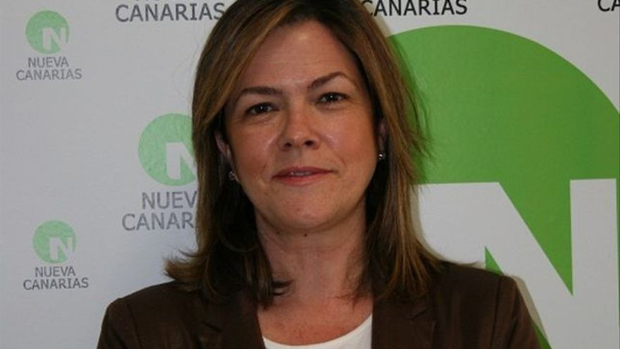Maeve Sanjuán es concejal de Nueva Canarias (NC) en la capital.
