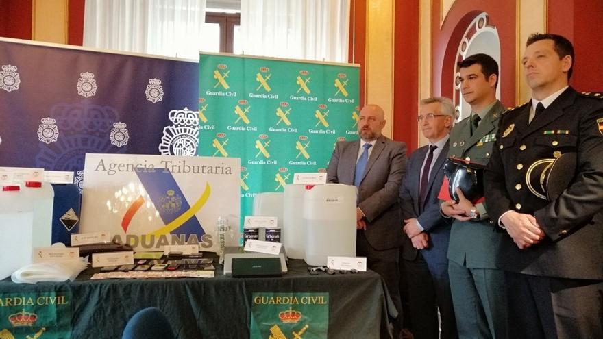Desarticulado en Navarra el mayor laboratorio de producción de 'speed' detectado en España